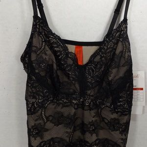 NEW Skinnygirl Body Shaper Lace Shaping Cami L